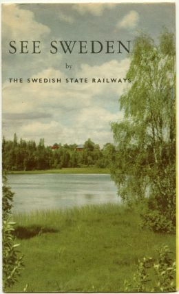 See Sweden by The Swedish State Railways. Map title: Railway Map of Sweden.
