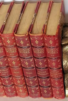 The Works of Victor Hugo. (Limited Edition Set of Twenty Volumes).