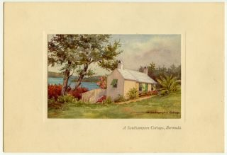 Colors prints of Bermuda by Ethel Tucker.
