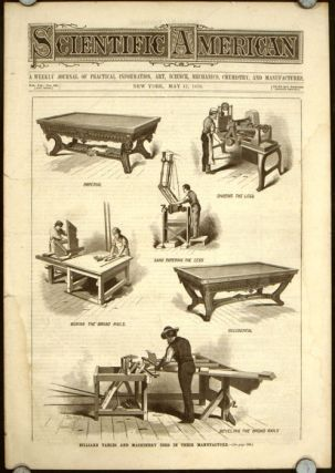 Scientific American. The Monthly Journal of Practical Information,.... May 17 1879. [Billiard...