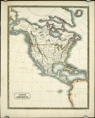 North America. NORTH AMERICA - TEXAS AS A. REPUBLIC