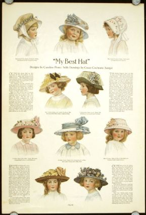 """My Best Hat"" 1910s FASHION - HATS."