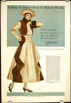 Calling Costume from la Maison Week. 1910s FASHION.