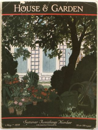 House & Garden. 1928 - 05 (May). Summer Furnishings Number. INTERIOR DESIGN / ARCHITECTURE /...
