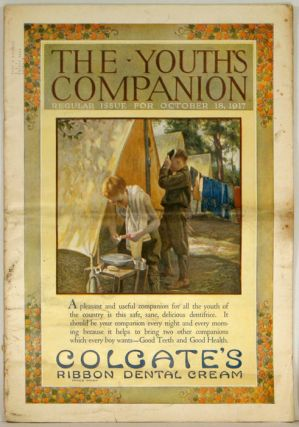 The Youth's Companion. 1917 - 10 - 18 (October). BOY SCOUTS / FAIRY SOAP.