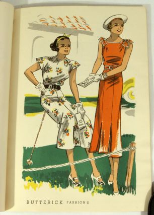 Butterick. Advance Paris Forecast. Late Summer. 1936.