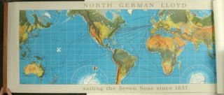 North German Lloyd sailing the Seven Seas since 1857. NORTH GERMAN LLOYD