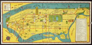 For Your Pleasure And Guidance...Mr. Nettels We Present Ye Mappe And Events of New Yorke and...