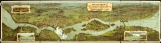 Niagara Falls and Buffalo International Railway Co's Interurban Lines. NEW YORK - BUFFALO -...
