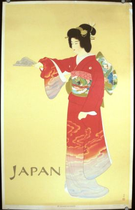 "Japan. [""Jo no Mai"" (Noh Dance Prelude) POSTER]. JAPAN"