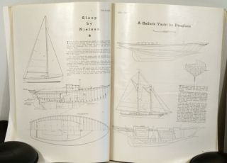 The Rudder. The Magazine for Yachtsman. 1945 - 1947 GROUP OF SIX INDIVIDUAL ISSUES.