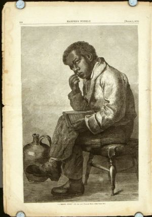 """A Brown Study"" IN COMPLETE ISSUE OF HARPER'S WEEKLY. BLACK AMERICANA."