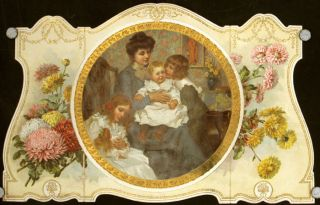 The Youth's Companion Calendar for 1903. 1903 CHROMO CALENDAR - MOTHER WITH CHILDREN.