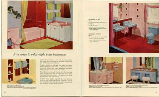 1956 Home Decorator and how-to-paint book.