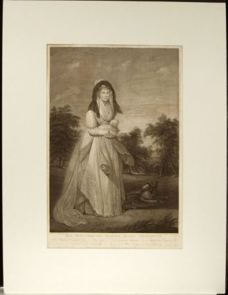 Her Most Gracious Majesty, Queen Charlotte. This print, Engraved from a Picture painted by Sr...