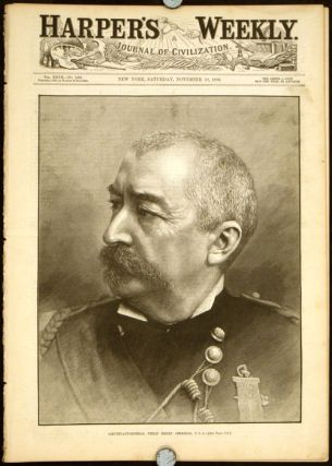 Lieutenant-General Philip Henry Sheridan. In COMPLETE ISSUE of Harper's Weekly magazine,...