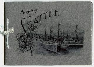 Souvenir of Seattle, Wash. Photo-Gravures. UNITED STATES - WASHINGTON STATE - SEATTLE