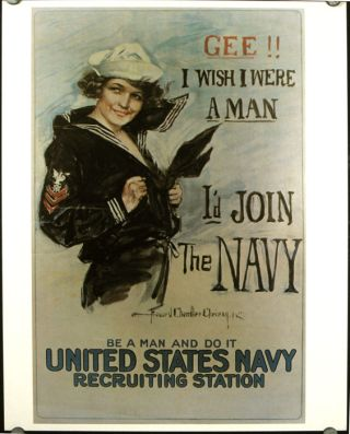 """U.S. Navy Recruiting Posters. Set of 20. [Incl """"Yangtze River Gunboats,"""" """"The Navy Needs You! Don't Read American History - Make It!"""" """"Sky Ships"""" (1931) and """"What the Navy is Doing - Be a Submariner"""""""