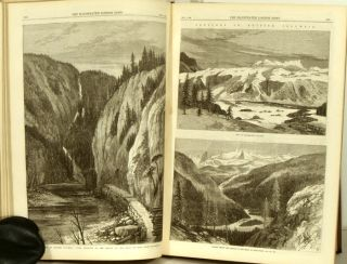 The Illustrated London News. 1868 - (07 - 12). July to December. BOUND VOLUME. ABYSSINIAN...