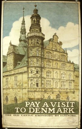 Pay a Visit To Denmark. The Old Castle Kronborg by Elsinore. DENMARK.