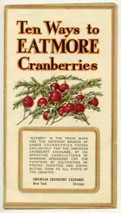Ten Ways to EatMore Cranberries. RECIPES