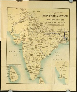 Ceylon. Information for Visitors to the Island. Season 1928-29. SRI LANKA / CEYLON
