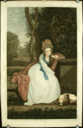 Untitled portrait of a lady (Countess Spencer by Joshua Reynolds?). FASHION / PORTRAITURE
