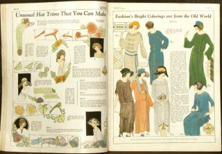 Illustrated Needlework. 1923 - 05 (May). NEEDLEWORK