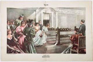 Ladies' Night (IN COMPLETE ISSUE OF Truth magazine February 1, 1896). BOWLING