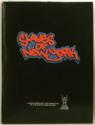Slaves of New York (Film Press Packet). 80S FILMS, Tama Janowitz, et. al