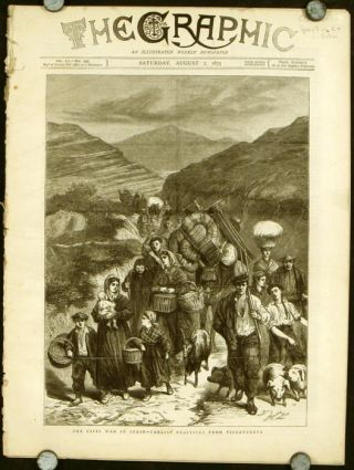 The Graphic An Illustrated Weekly Newspaper. 1875 - 08 - 07.