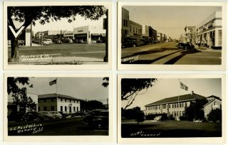 Oxnard, California. Four Post Cards. CALIFORNIA - OXNARD