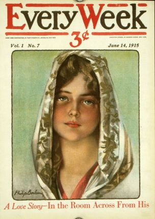 Every Week. 1915 - 06 - 14 (August). COVER ONLY. PHILIP BOILEAU.