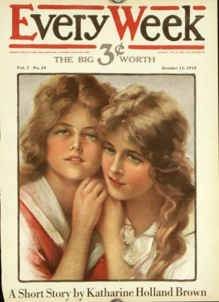 Every Week. 1915 - 10 - 11 (October). COVER ONLY. PHILIP BOILEAU.