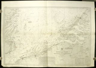 North Sea Dover and Calais to Orfordness and Scheveningen. From various surveys to 1934. No....