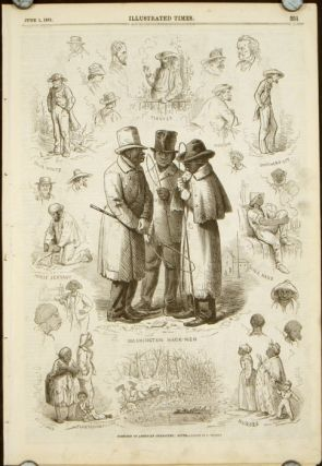 Sketches of American Character: North and South IN COMPLETE ISSUE OF ILLUSTRATED TIMES June 1,...