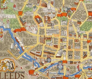Leeds from A.D. 1625 - The Year of the Royal Charter Granted by King Charles the First.