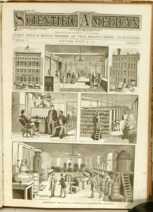 Scientific American. The Weekly Journal of Practical Information, Art, Science, Mechanics, Chemistry, and Manufactures. January 1, 1881 through December 31, 1881.