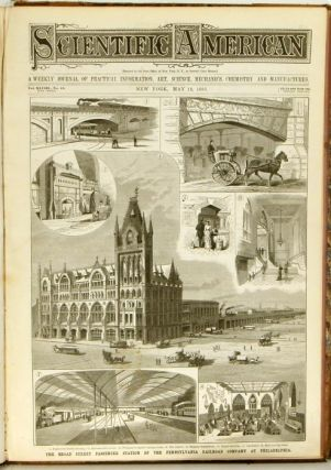 Scientific American. The Weekly Journal of Practical Information, Art, Science, Mechanics, Chemistry, and Manufactures. January 6, 1883 through June 30, 1883.