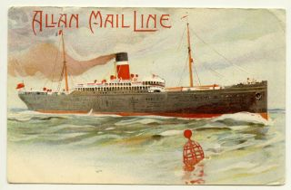 Allan Mail Line. SHIPS