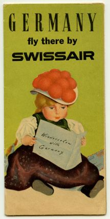Germany fly there by Swissair. (Wiedersehen with Germany). SWISS AIR - GERMANY