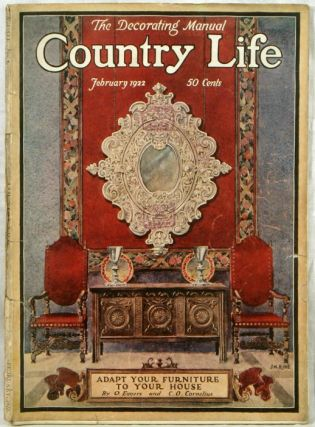 Country Life. 1922 - 02. ARCHITECTURE / INTERIOR DESIGN
