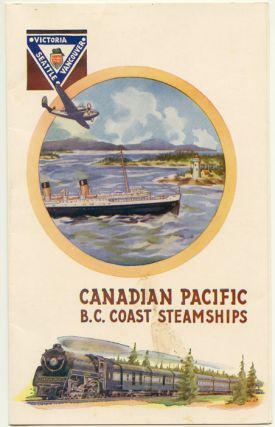 Canadian Pacific B. C. Coast Steamships. CANADIAN PACIFIC / MENU