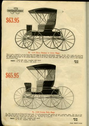 Elkhart Carriage & Harness Mfg. Co. CATALOG - CARRIAGES