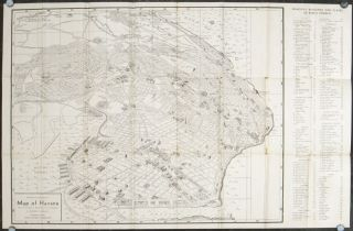 Panoramic and Monumental Map of Havana. (Plano Panoramico y Monumental de La Habana). Cover...