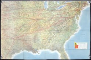 American Airlines System Map. AMERICAN AIRLINES.
