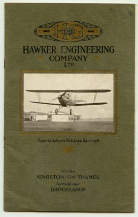 Military Aircraft of All Types. Ltd AVIATION / MILITARY H. G. Hawker Engineering Company.