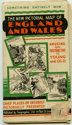 The New Pictorial Map of England and Wales.
