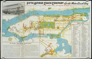 See New York - The Motor Coach Way. Fifth Avenue Coach Routes and Visitor's Guide. NEW YORK - NEW YORK CITY.