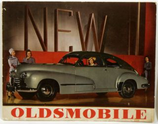 Presenting the New Oldsmobile. AUTOMOTIVE.